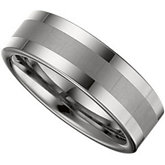 8.3mm Dura Tungsten® Band with Satin Center