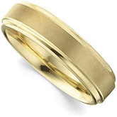 6.3mm Dura Tungsten® Gold Immersion Plated Ridged Band
