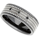 Dura Tungsten® & Ceramic Couture™  Band