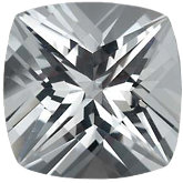 Antique Square SWAROVSKI GEMS™ Genuine White Topaz