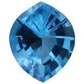 Onion Fantasy Genuine Swiss Blue Topaz