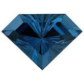 Chevron Fantasy Genuine London Blue Topaz