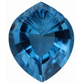 Onion Fantasy Genuine London Blue Topaz