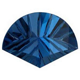 Fan Genuine London Blue Topaz