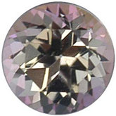 Signity® Genuine Topaz Passion - Round Star Faceted-Machine Cut Non-Returnable; Fine Quality; COMPLEXION