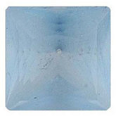 Square Genuine Ice Blue Frosted  Topaz