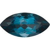 Marquise Genuine London Blue Topaz