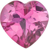 Heart Genuine Pure Pink Mystic Topaz