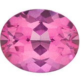 Oval Genuine Pure Pink Mystic Topaz