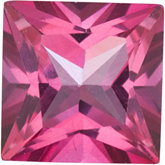 Square Genuine Pure Pink Mystic Topaz