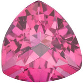 Trillion Genuine Pure Pink Mystic Topaz