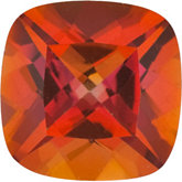 Antique Square Genuine Sunrise Mystic Topaz