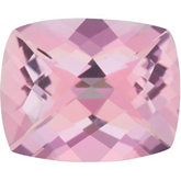 Antique Cushion Genuine Baby Pink Topaz