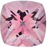 Antique Square Genuine Baby Pink Topaz