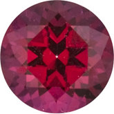 Round SWAROVSKI GEMS™ Genuine Blazing Red Topaz