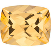 Antique Cushion Genuine Honey Topaz