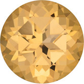 Round SWAROVSKI GEMS™ Genuine Honey Topaz