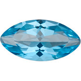 Genuine Topaz Passion - Marquise Faceted-Machine Cut Swarovski Gems/non-Returnable; Fine Quality; ICE BLUE