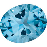Oval SWAROVSKI GEMS™ Genuine Ice Blue Topaz