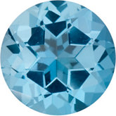 Round SWAROVSKI GEMS™ Genuine Ice Blue Topaz