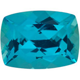 Antique Cushion Genuine Paraiba Topaz