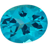 Oval Genuine Paraiba Topaz