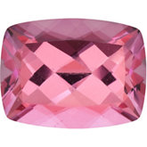 Antique Cushion Genuine Pink Topaz