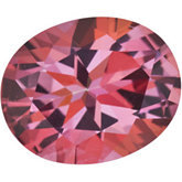 Oval Genuine Pink Topaz