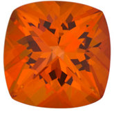 Antique Square Genuine Poppy Topaz