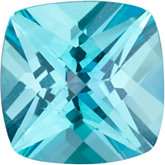 Antique Square Genuine Teal  Topaz