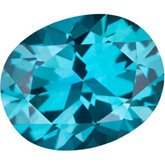 Oval Genuine Teal  Topaz