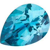 Pear Genuine Teal  Topaz