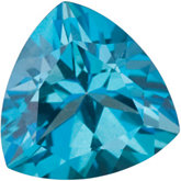 Trillion Genuine Teal  Topaz