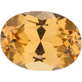 Oval Genuine Golden Precious Topaz