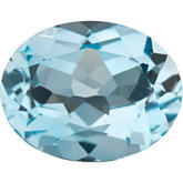 Oval Genuine Sky Blue Topaz