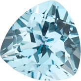 Trillion Genuine Sky Blue Topaz