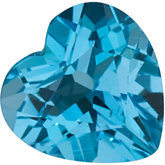 Heart Genuine Swiss Blue Topaz