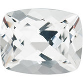 Antique Cushion Genuine White Topaz