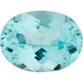 Oval Genuine Blue Paraiba Tourmaline