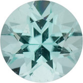 Genuine Tourmaline - Round Faceted Mozambique; A Quality; Blue (paraiba)