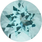 Round Genuine Blue Paraiba Tourmaline