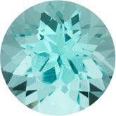 Genuine Tourmaline - Round Faceted Mozambique; AAA Quality; Blue (paraiba)