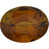 Oval Genuine Bronze Tourmaline