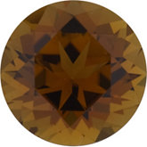 Round Genuine Bronze Tourmaline