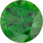 Round Genuine Green (Chrome) Tourmaline