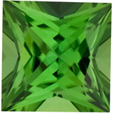 Square Genuine Green (Chrome) Tourmaline