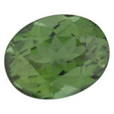 Oval Genuine Green Tourmaline