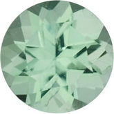 Round Genuine Green Paraiba Tourmaline