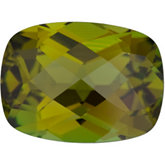 Antique Cushion Genuine Olive Tourmaline