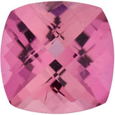 Antique Square Genuine Pink Tourmaline